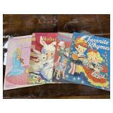 Paper Dolls, Paperback Nursery Rhymes