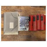 Plastic File Holders, Space Book, The Children
