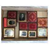 Vintage Frames With Tin Photos