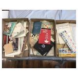 Postcards, Memorabilia, Collector Stamps
