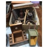 Pipe Racks, Candle Holders, Book Ends