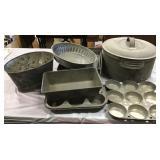 Tin Roaster, Baking Pans