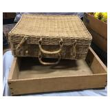 Wicker Case, Wooden Crate