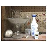 Pedestal Bowl, Vases, Decnaters