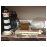 Home Decor, Globe, Candles