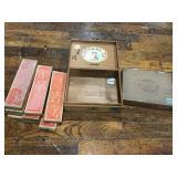 Sealing Wax And Cigar Boxes