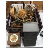 Coasters, Baskets, Decor, Metal Mail Box