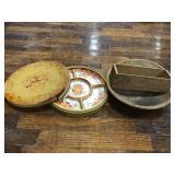 Japanese Relish Dish, Cheese Box, Wooden Bowl