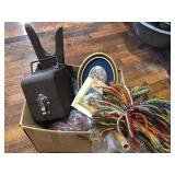 Simmons Film Storage Box, Duster, Basket