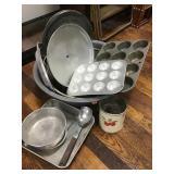 Granite Wash Pan, Pan, Baking Pan, Muffin Pans,