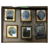 Vintage Frames With Metal Pictures