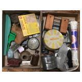 Medicine Bottles, Tins, Assorted Items