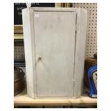 Metal Corner Cabinet 14x9x20