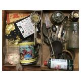 Trivet, Stein, Canning Jar, Assorted Items