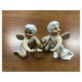 Porcelain Angel Candle Huggers