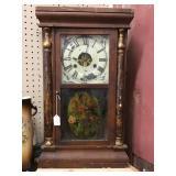 1870 Seth Thomas Wall Clock 15x5x25