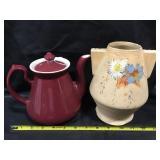 Hall Tea Pot, Pottery Vase