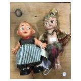 Walker Doll, New Year Doll