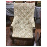Floral Pattered Arm Chair