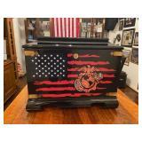United States Marine Corps Memory Chest NIB