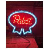 Pabst Blue Ribbin Neon Sign