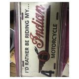 Indian Motorcycle Tag