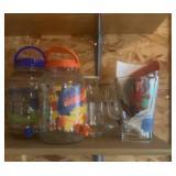 Ice Tea Glass Jars