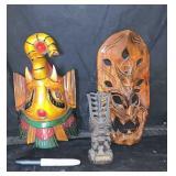 Wood Masks Decor