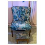 Chair & Ottaman