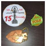 Anaconda Washoe Theatre 75 th Anniversary Pin