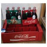 Coca-Cola Bottles & Rack