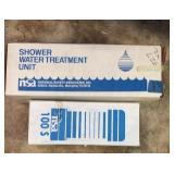 Shower Water Treatment Unit