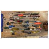 Assortment of screwdrivers