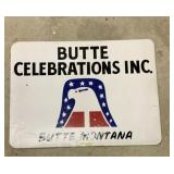 Butte Montana Magnetic Sign