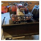 4-wheeler with plow