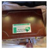 Briefcase and backgammon