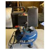 Mini pancake air compressor