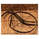 Antique Hand Plow Wheel