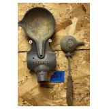 Cooks Hammer Service Mold and Ladle