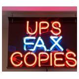 UPS Neon Light