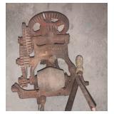 Antique Deering Sickle Grinder