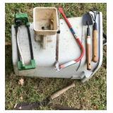 Misc garden tools.