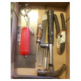 Misc box of tools.