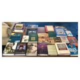 Assortment of books and bibles