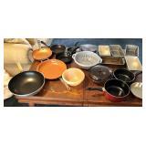 Misc assortment of kitchen items