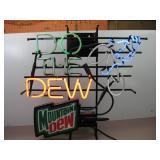 Mountain Dew Neon Sign