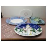 Assorted Serving Trays