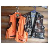 Two XL Cabelas Hunting Vests