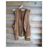 2XL Leather Vest