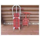Two Vintage Sleds